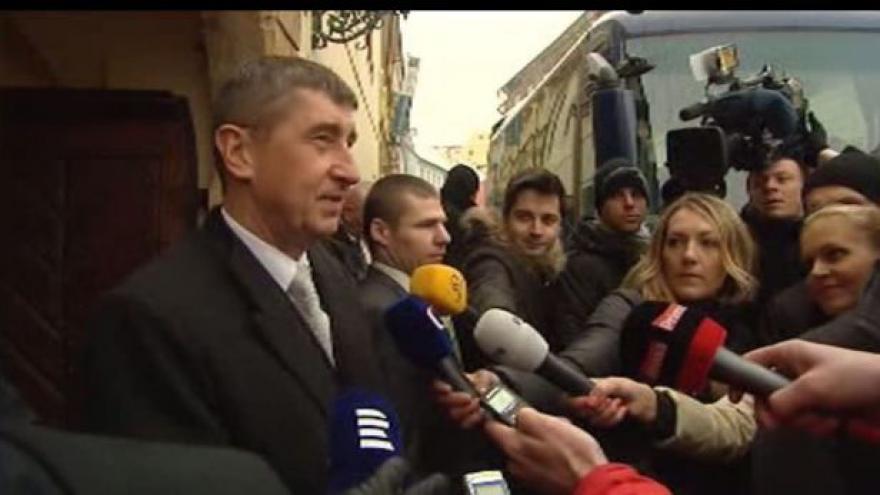 Video Babišův první den ve funkci bude probíhat na Slovensku
