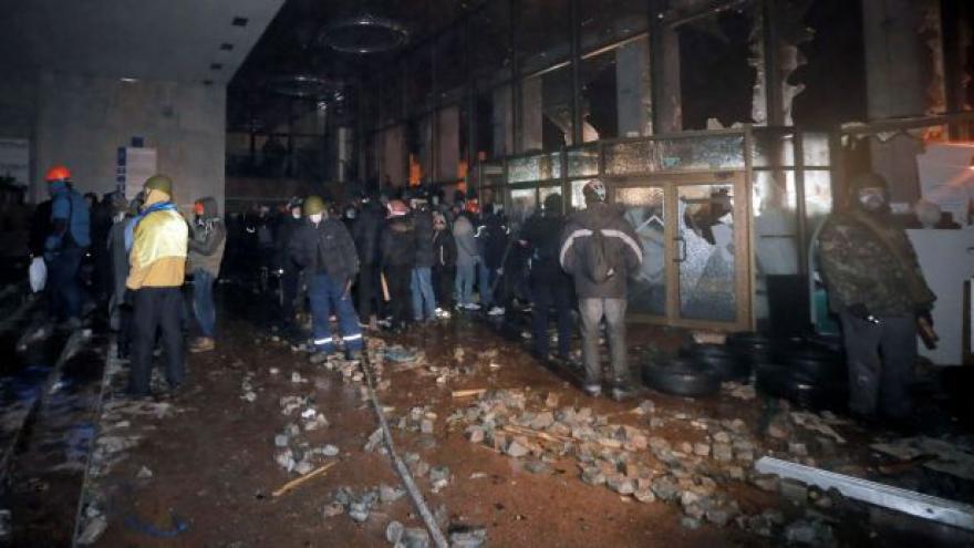 Video Bez komentáře - Nepokoje v Kyjevě