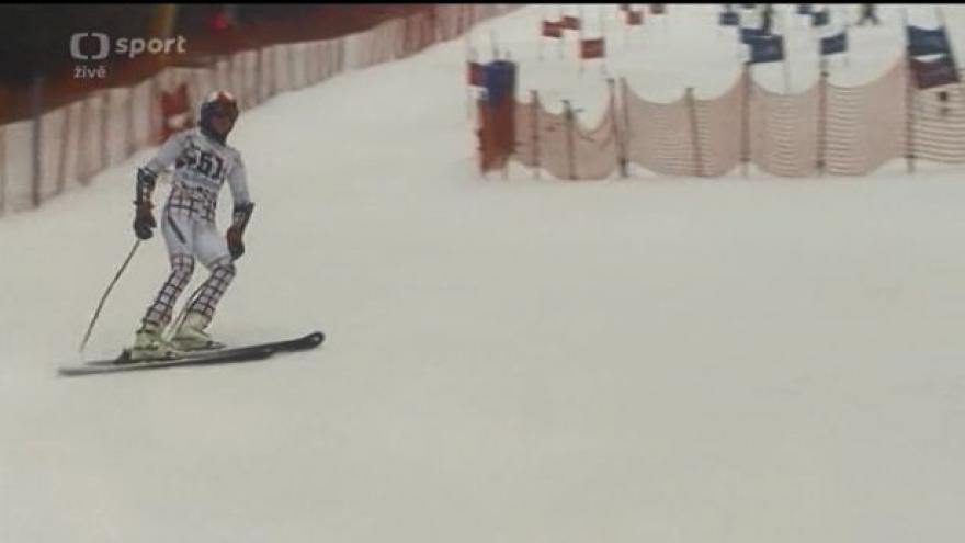 Video Na dětské olympiádě se rozdělovaly medaile v paralelním slalomu