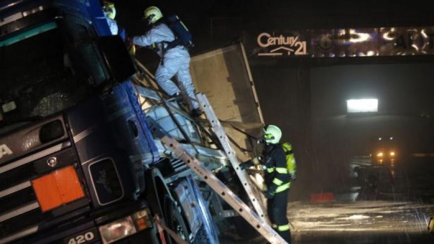 Video O zásahu hovoří mluvčí hasičů Jaroslav Mikoška