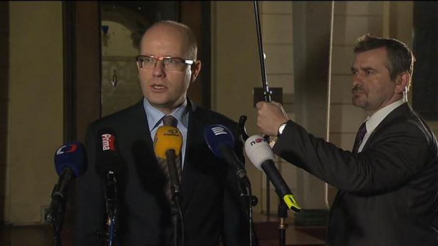 Video Sobotka: Očekávám, že prezident návrhu premiéra vyhoví