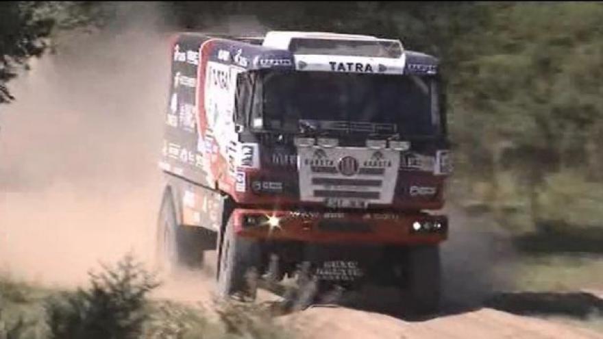 Video Kolomý na Dakaru skončil