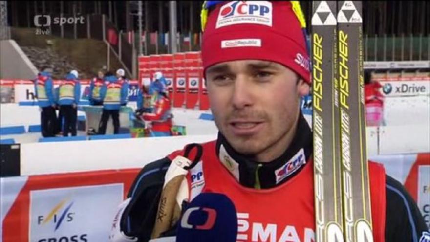 Video Razým od sebe v kvalifikaci sprintu na Zlaté lyži čekal lepší výkon