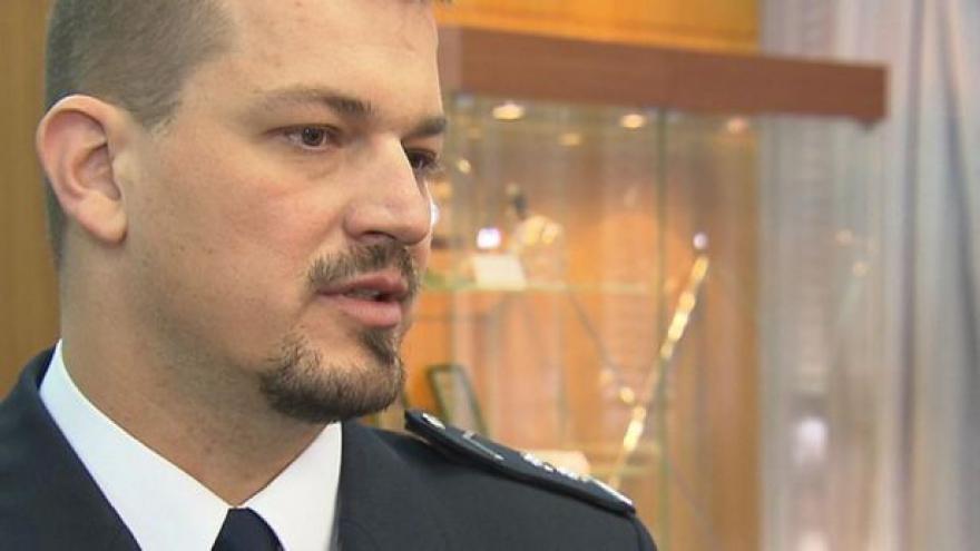 Video Brífink šéfa dopravní policie Tomáše Lercha o nehodách v roce 2013