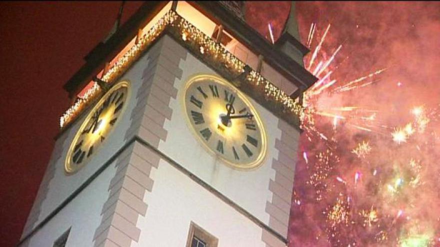 Video Česko slaví příchod nového roku