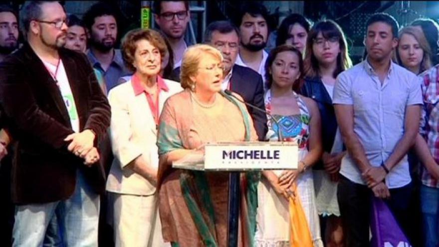 Video Chile má staronovou prezidentku