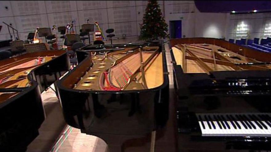 Video Koncert pro tři klavíry