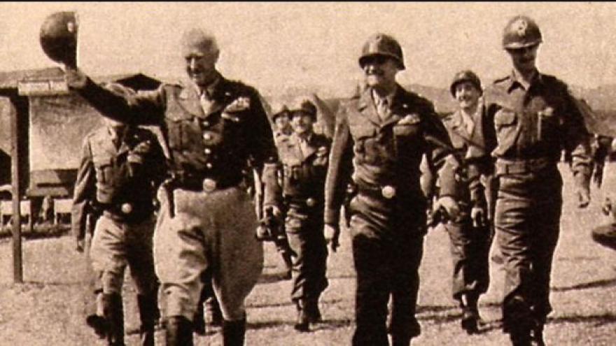 Video V USA oživili pochod Pattonovy armády