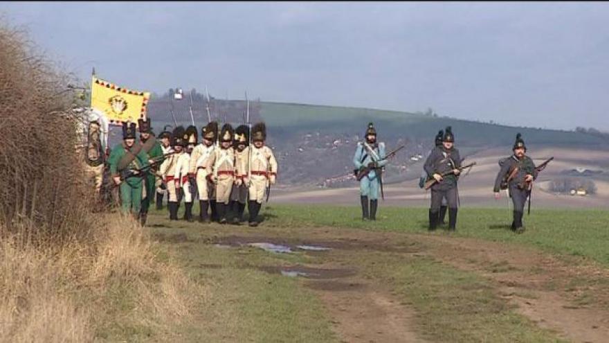 Video Dnes vypukne rekonstrukce bitvy u Slavkova