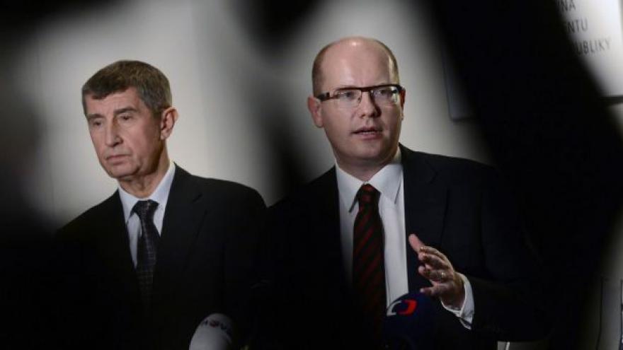 Video Události o jednání ČSSD a ANO