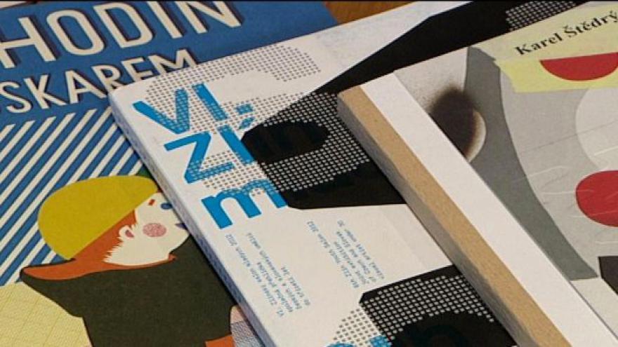 Video Nejkrásnější české knihy na výstavě