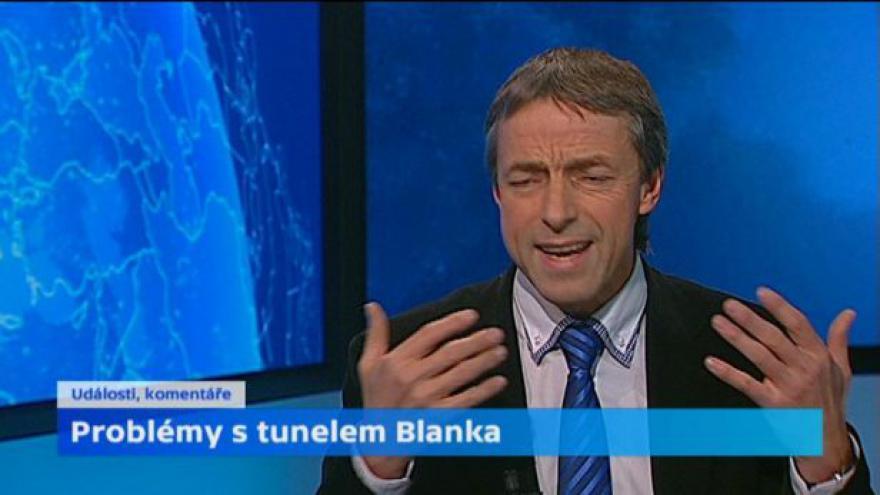 Video Exprimátor Pavel Bém k tunelu Blanka