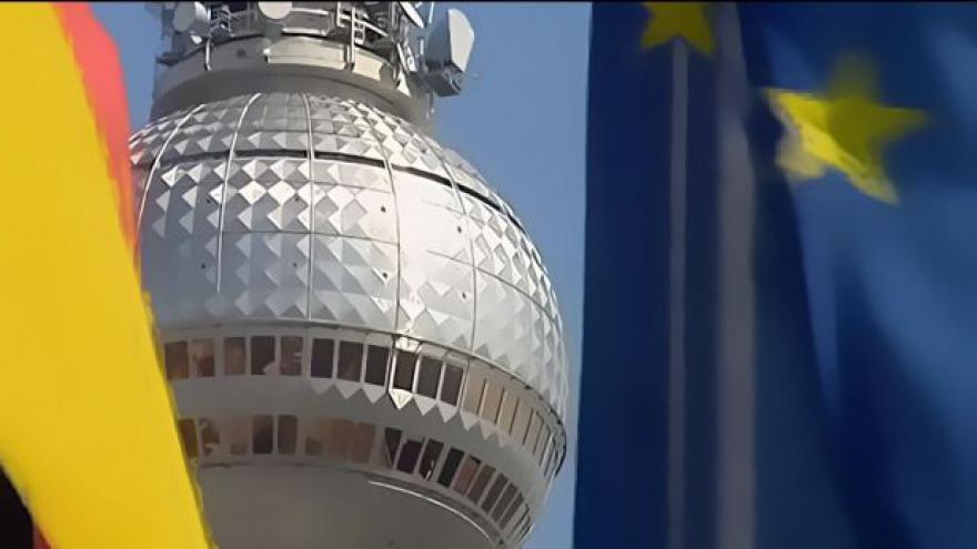Video Horizont 24 ke zprávě o stavu sjednoceného Německa
