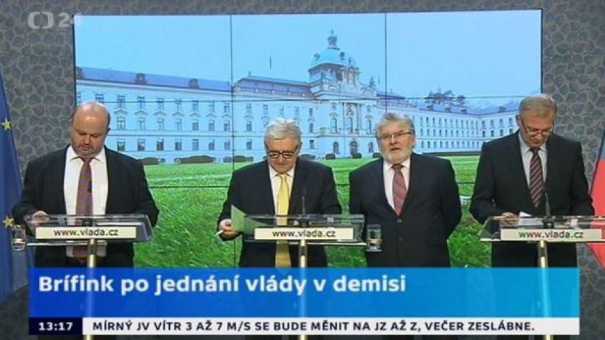 Video TK po jednání vlády