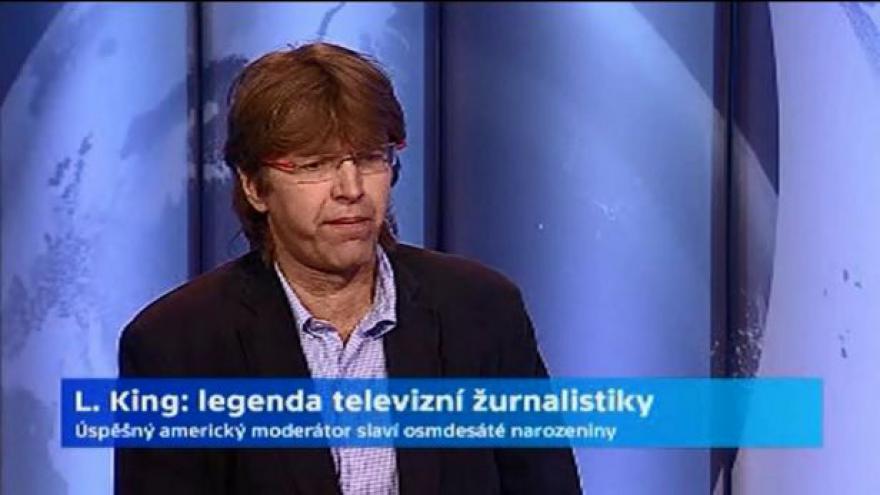 Video Publicista Miloš Čermák o legendě žurnalistiky Larrym Kingovi