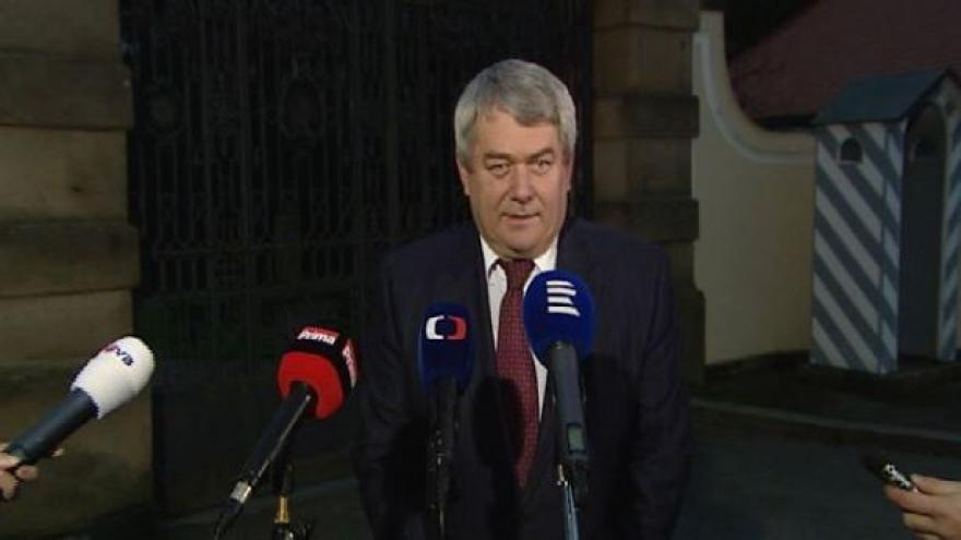 Video Vojtěch Filip po přijetí u prezidenta v Lánech