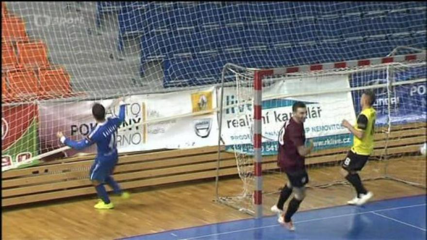 Video Sestřih futsalového utkání Tango Brno - Sparta Praha
