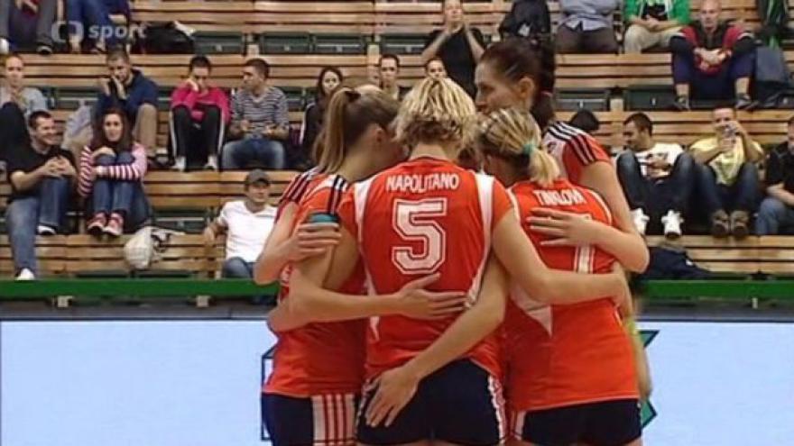 Video Sestřih utkání volejbalistek Olomouc - Olymp Praha