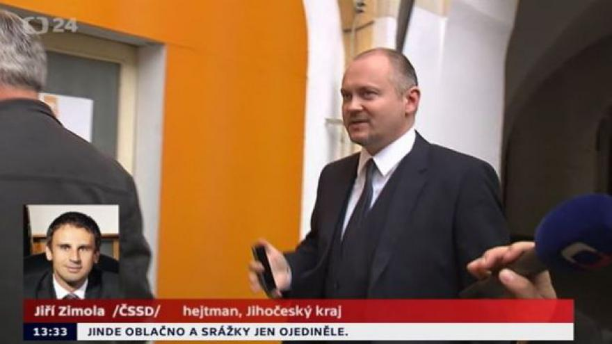 Video Jiří Zimola ke schůzce v Lánech