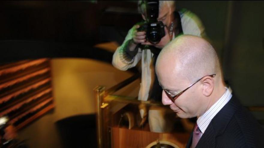Video Bohuslav Sobotka po jednání poslaneckého klubu ČSSD
