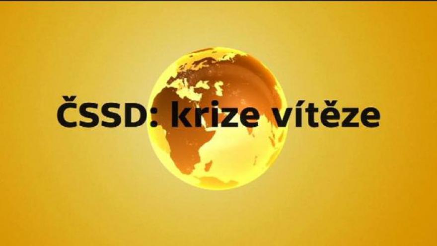 Video Politické reakce na krizi v ČSSD ve speciálu ČT24