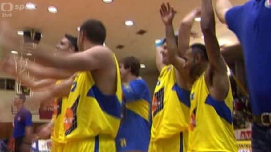 Video Sestřih utkání basketbalistů Ústí nad Labem - USK Praha