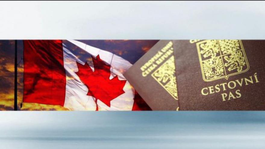 Video Události: Kanada zruší Čechům víza