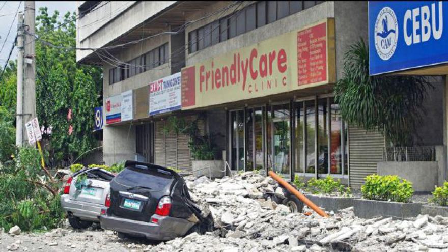 Video Katarína Fagošová k zemětřesení na Filipínách