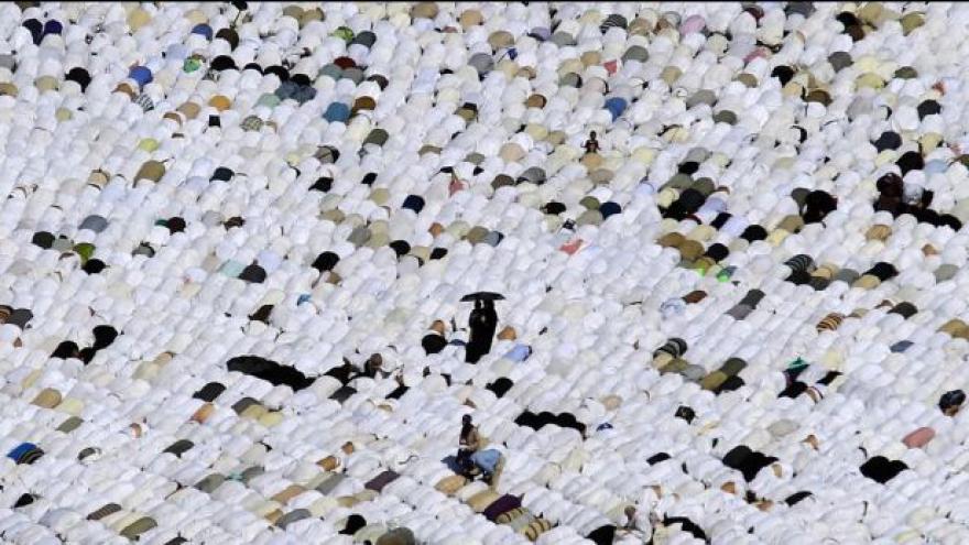 Video V Saúdské Arábii začíná pouť do Mekky