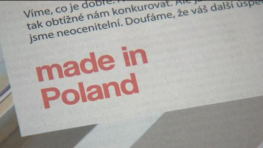 Video Události o polských potravinách
