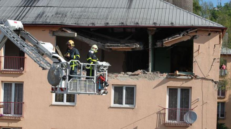 Video Policie zadržela muže, který způsobil výbuch bytu v Havířově