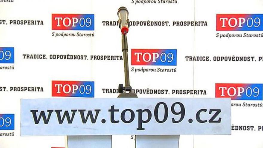 Video Výsledky jednání předsednictva TOP 09
