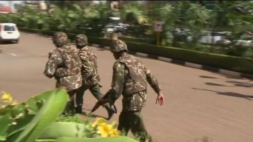 Video Drama v keňské metropoli Nairobi