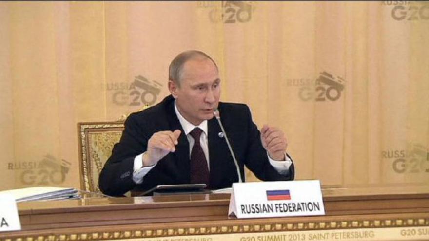 Video Ruský prezident po summitu G20