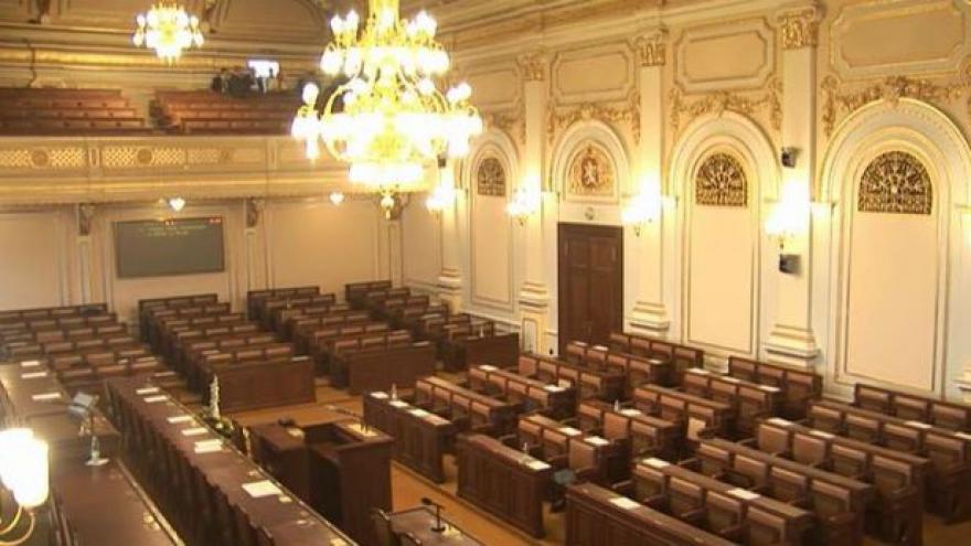Video Hlasování o rozpuštění Poslanecké sněmovny