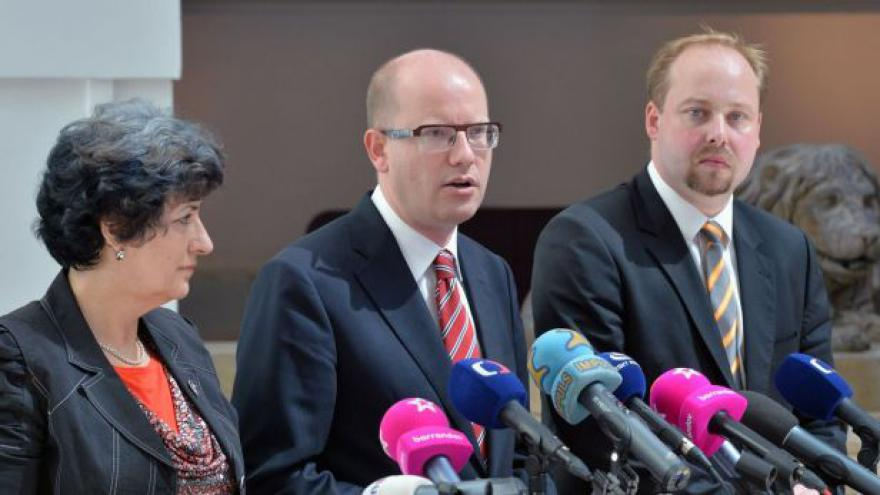 Video Brífink ČSSD o stranických volebních lídrech v krajích