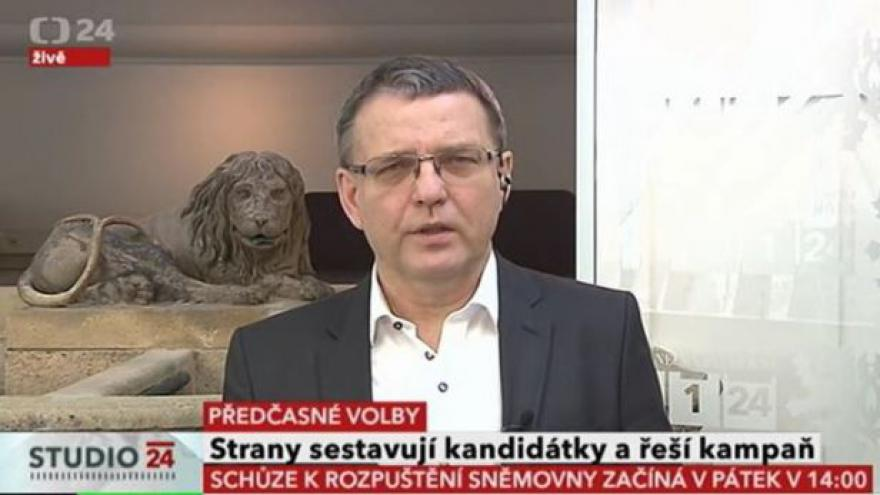 Video Lubomír Zaorálek k předčasným volbám