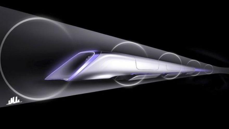 Video Události o projektu Hyperloop