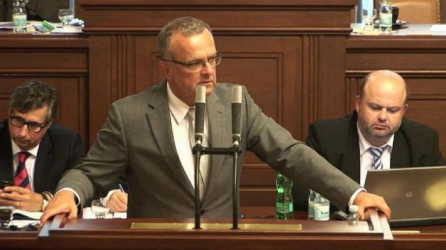Video Projev Miroslava Kalouska ve sněmovně