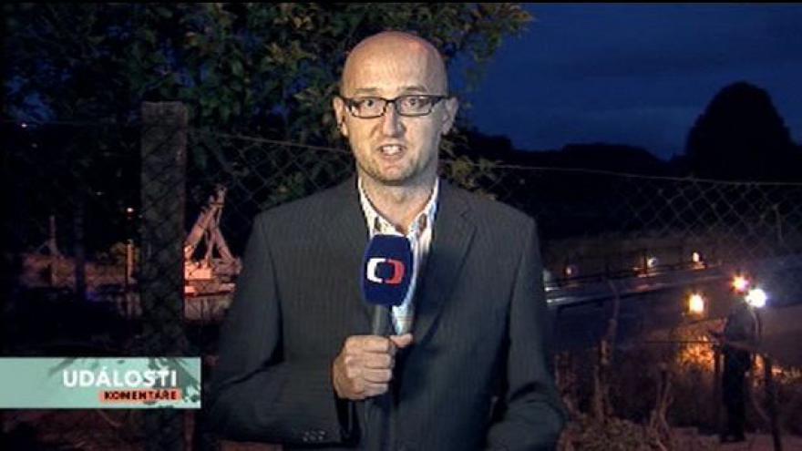 Video Rozhovor se zpravodajem ČT Petrem Zavadil v Událostech, komentářích