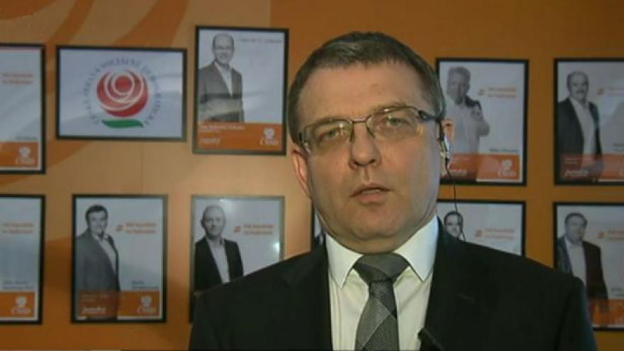 Video Lubomír Zaorálek ve Studiu ČT24