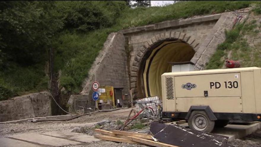 Video Tomáš Vzorek o jablunkovském tunelu