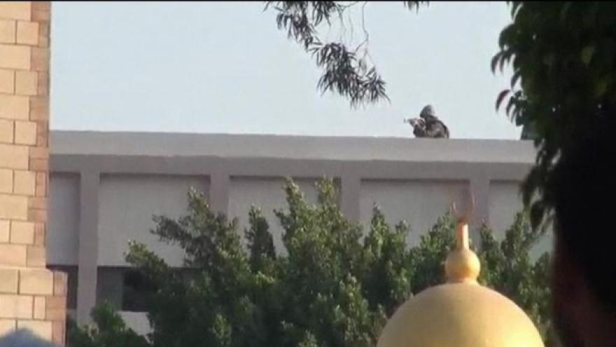 Video Svědectví střelby v Egyptě