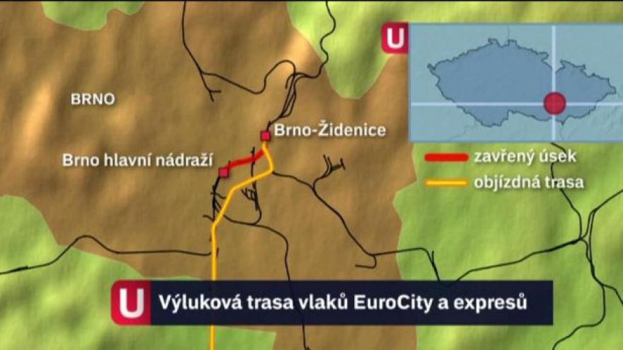 Video Výluka na brněnském hlavním nádraží