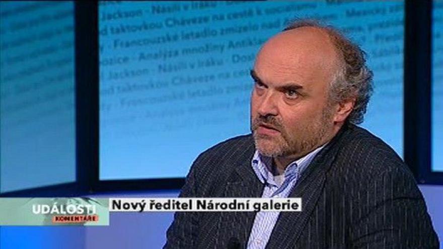 Video Jiří Fajt hostem Událostí, komentářů
