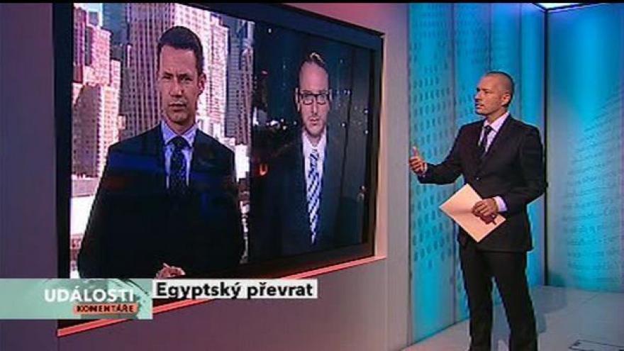 Video Egyptský převrat tématem Událostí, komentářů
