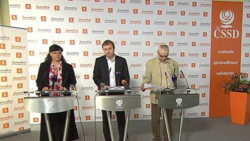Video Brífink ČSSD k jednání vlády a 2. pilíři důchodové reformy