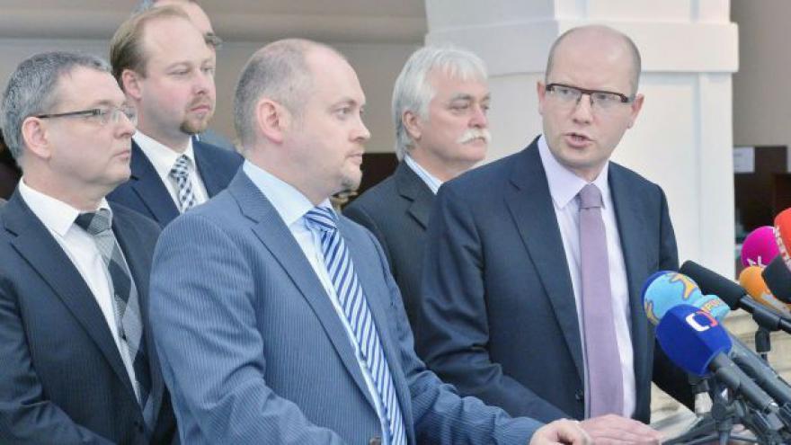 Video ČSSD ke jmenování Rusnoka premiérem