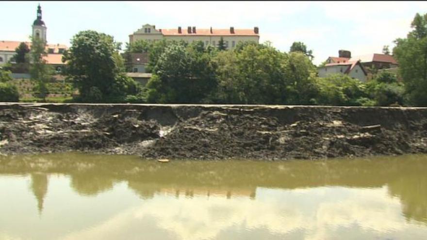 Video Čechy po povodních