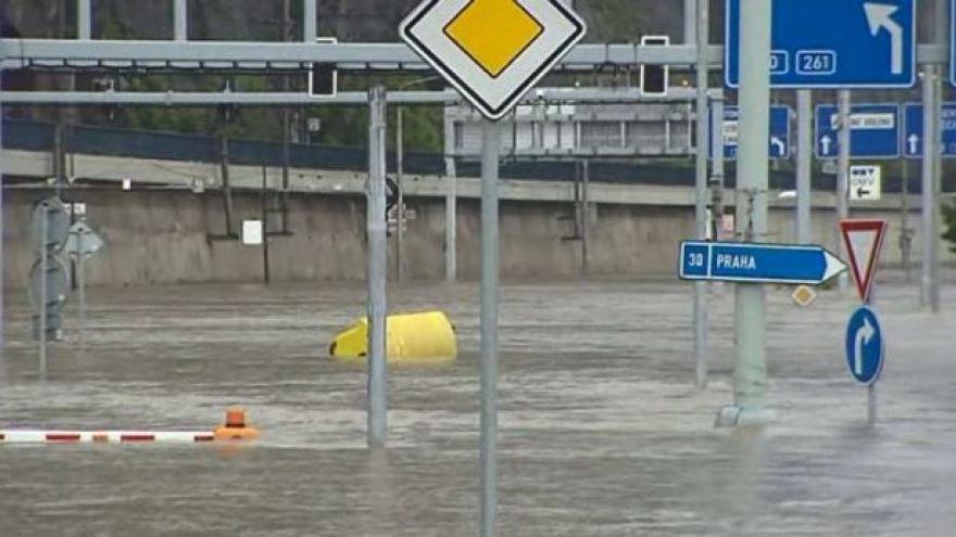 Video Povodně Severní Čechy pohledem kamer ČT